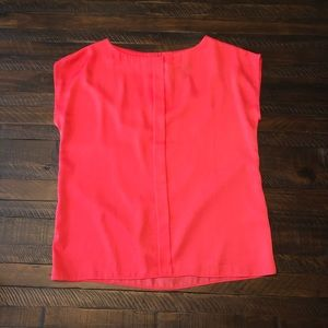 Gorgeous coral MNG blouse